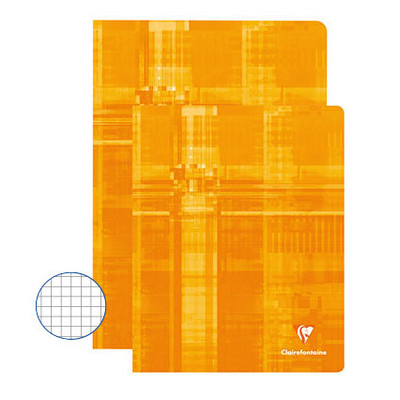 Clairefontaine Exercise Books 48 Page 220X170Mm Orange Box 50