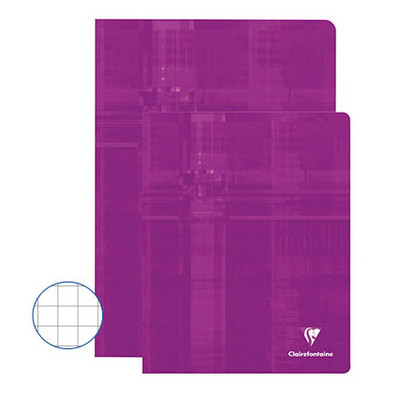 Clairefontaine Exercise Books 48 Page A4 Orchid Purple Box 50