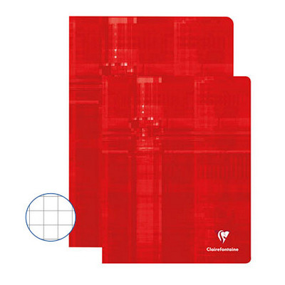 Clairefontaine Exercise Books 48 Page A4 Red Box 50