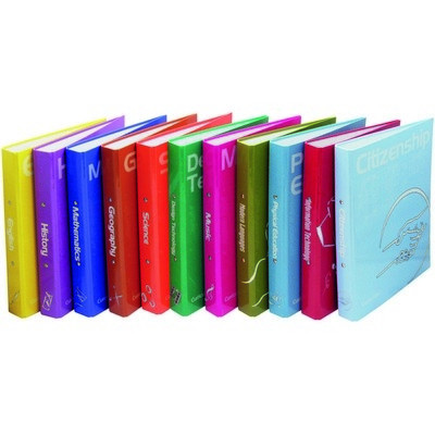 Curriculum Ring Binders Citizenship (2-Ring) A4 Pack 10