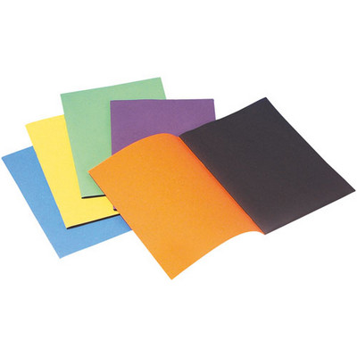 Project/Scrapbooks A4 Bright Assorted Pack 25