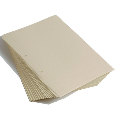 Cream Tinted Exercise Paper Ruled 8Mm + Magin A4  Ream