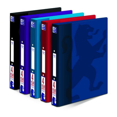 Oxford Campus A4+ Ringbinder Assorted Colours
