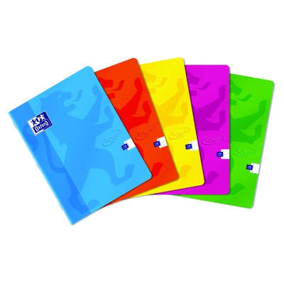 Oxford Touch A4 Stapled Notebook Pack 5
