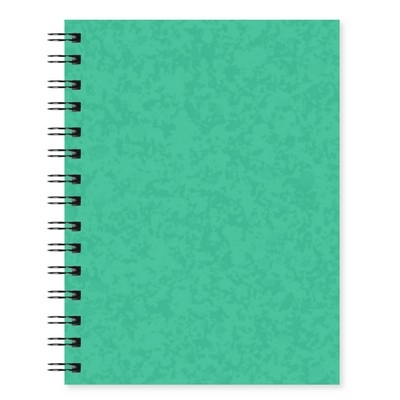 Luxpad A5 Wirebound Notebook -  Assorted Colours