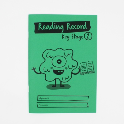A5 Reading Record Book Key Stage 2 Pack 30