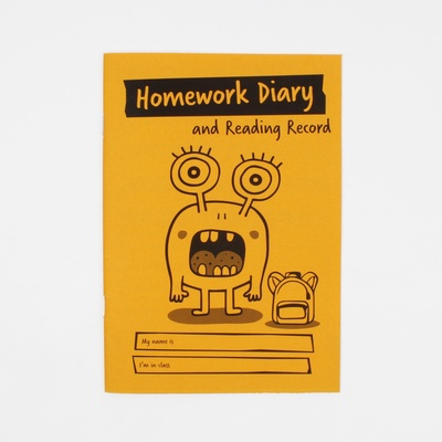 A5 Children'S Primary Homework Diary And Reading Record Pack 30