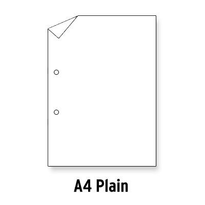 Loose Leaf Paper A4 Plain No Ruling 2 Hole Punched Box 5 Reams