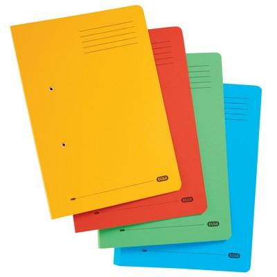 Elba Strongline Spring Files Assorted Pack 10