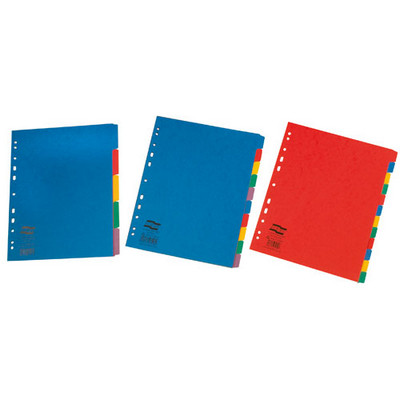 Divider 5 Part Europa Coloured Extra Wide Set
