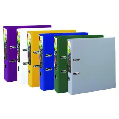 Lever Arch File 50Mm Capacity Assorted Pack 10