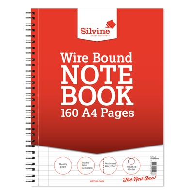 Refill Wirebound Perforated Pad A4