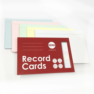 Presentation and Revision Cards Assorted Pack 150