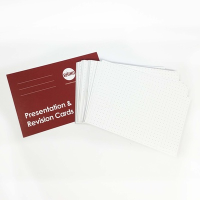 Presentation/Revision Cards (Pack 100)