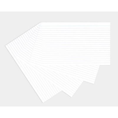 Revision/Record Cards 203X127Mm White Pack 100