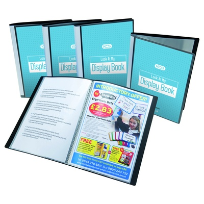YOU Display Book, Black, A3, 20 Pocket, Each