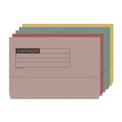 Document Wallets Assorted Box 50