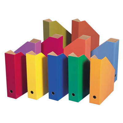 Coloured Filing Boxes Assorted Pack 11
