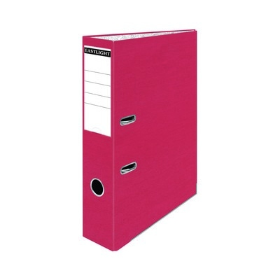 Foolscap Coloured Lever Arch Files Red Pack 10