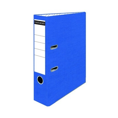 Coloured Lever Arch Files A4 Blue Pack 10