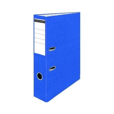 Foolscap Coloured Lever Arch Files Blue Pack 10