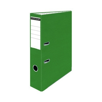 Foolscap Coloured Lever Arch Files Green Pack 10