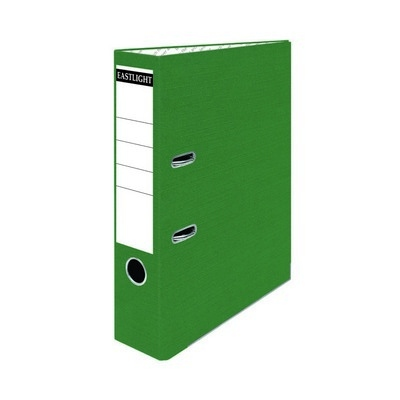 Coloured Lever Arch Files A4 Green Pack 10