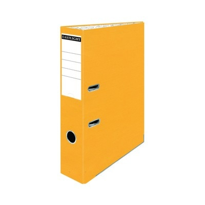 Foolscap Coloured Lever Arch Files Yellow Pack 10