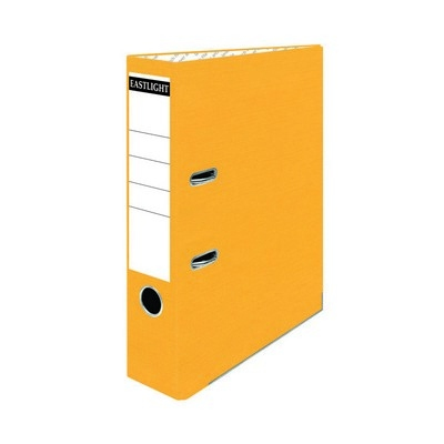 Coloured Lever Arch Files A4 Yellow Pack 10