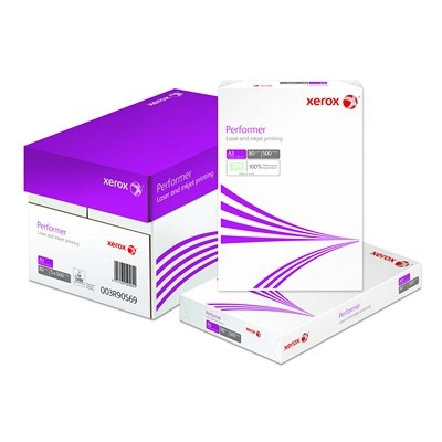 Xerox Performer White Photocopier Paper A3 80Gsm Box 5 Reams