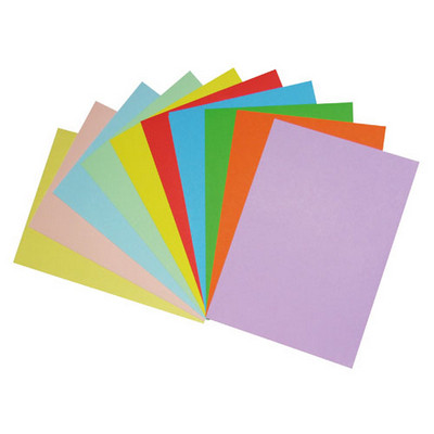 Office Paper, Assorted Colours, A4, Pack 500
