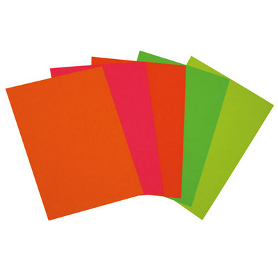Copier Paper, Day Glo Fluorescent, A4, Pk100 Shts