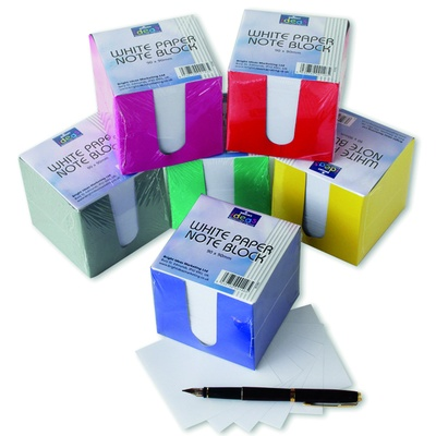 Assorted Colour Cardboard Outer Jotter Box Each