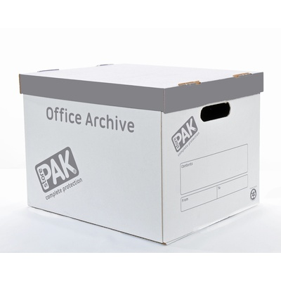 Archive Box With Lid Double Walled 260X340X390Mm Pack 10