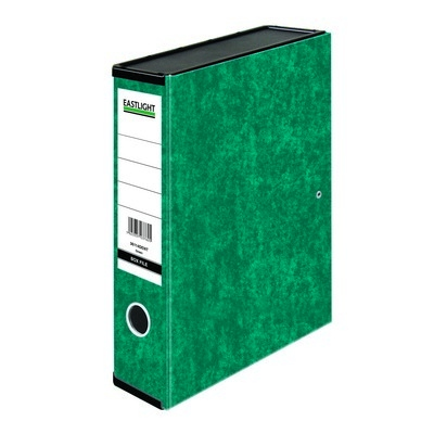 Foolscap Box Files Forest Green Each