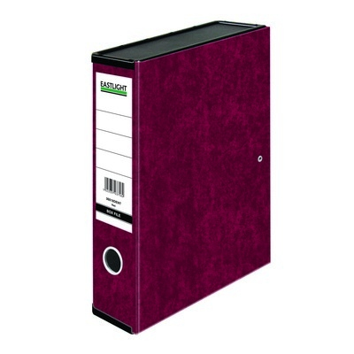 Foolscap Box Files Claret Red Each