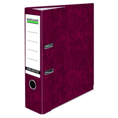 Lever Arch Files A4 Claret Red Each
