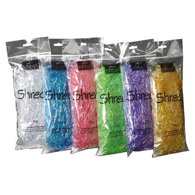 Iridescent Shred Assorted Pack 6