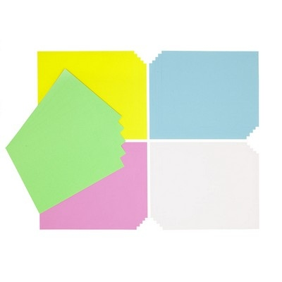 Poster Paper, Sheets, Cool Colours, A4+, Pk100