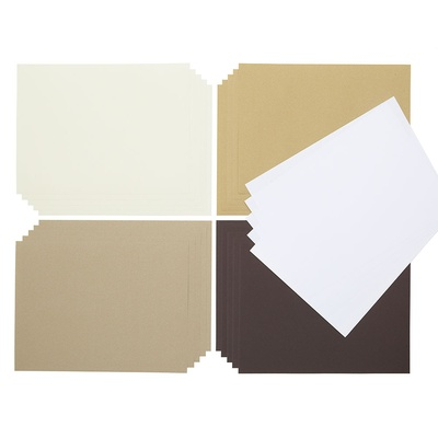 Poster Paper Sheets Naturals A4+, Pack 100