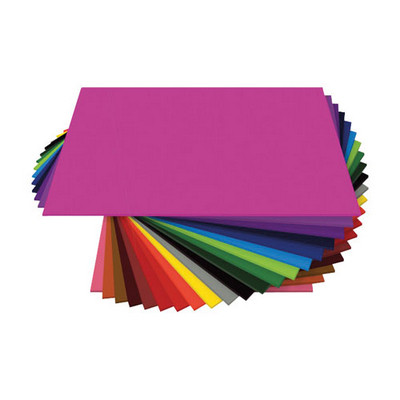Assorted Coloured Board A4 Assorted Pack 200