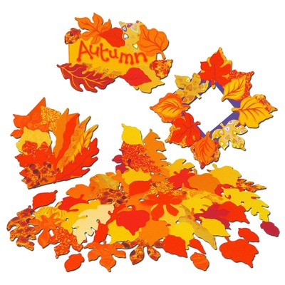 Autumn Leaf Assortment Assorted Pack 250