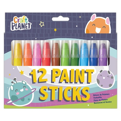Paint Sticks Pack 12