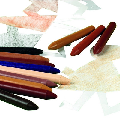 Wax Crayons People Colour Pack 10