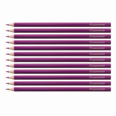 Pencils, Purple, Pack 12