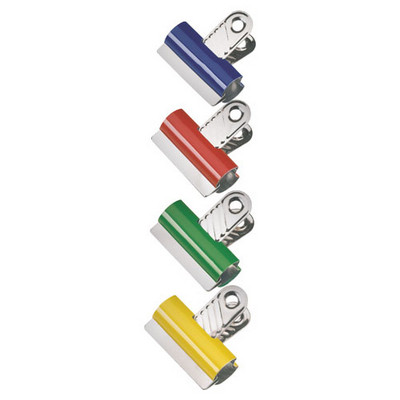 Coloured Spring Clips Assorted Pack 10