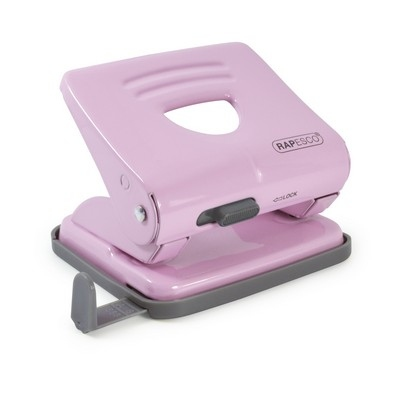825 Metal Hole Punch Pastel Pink