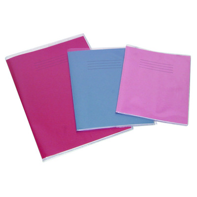 """Clear Plastic Exercise Book Covers 8"""" X 6.5"""" Pack 100"""