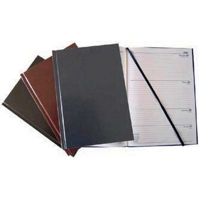 Calendar Year Diary (2021) Day To Page  A5 Black Each