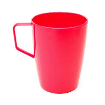 Polycarbonate Beaker Red Each 28Cl